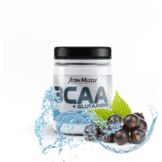 Atom Muscle BCAA + Glutamina - smak Czarna Porzeczka