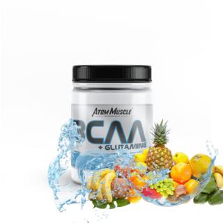 Atom Muscle BCAA + Glutamina - smak Tropik