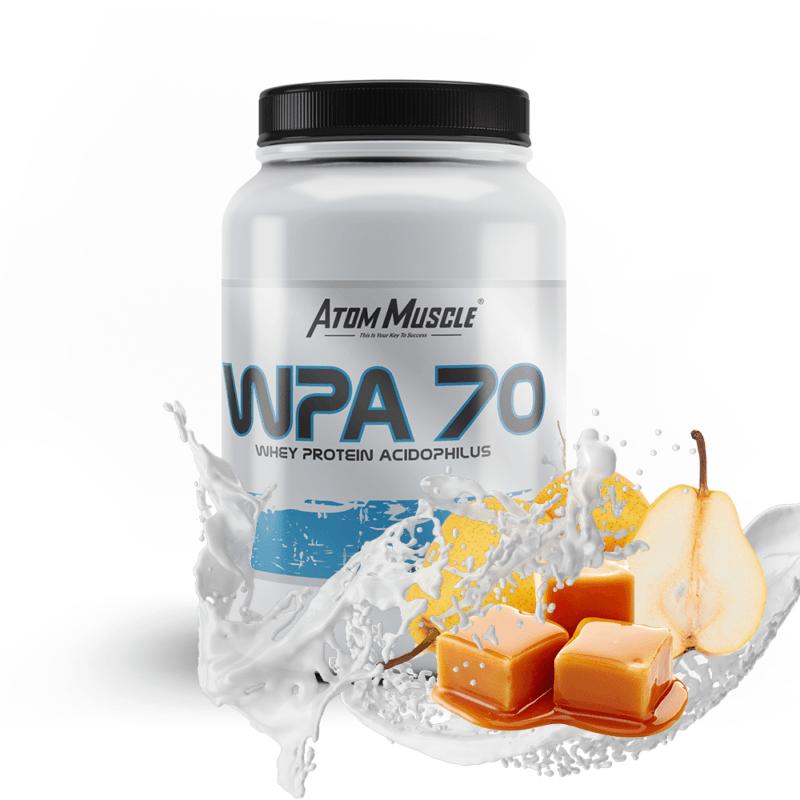 Atom Muscle WPA 70 - smak Gruszka w Karmelu