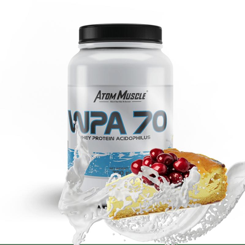 Atom Muscle WPA 70 -smak Sernik z wiśniami