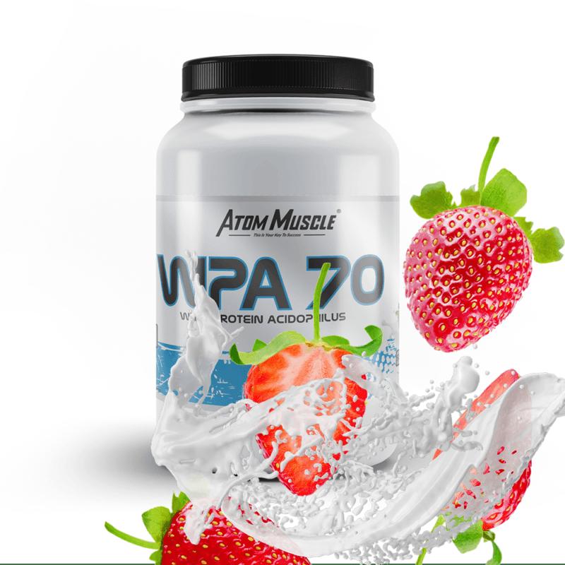 Atom Muscle WPA 70 - smak Truskawkowy