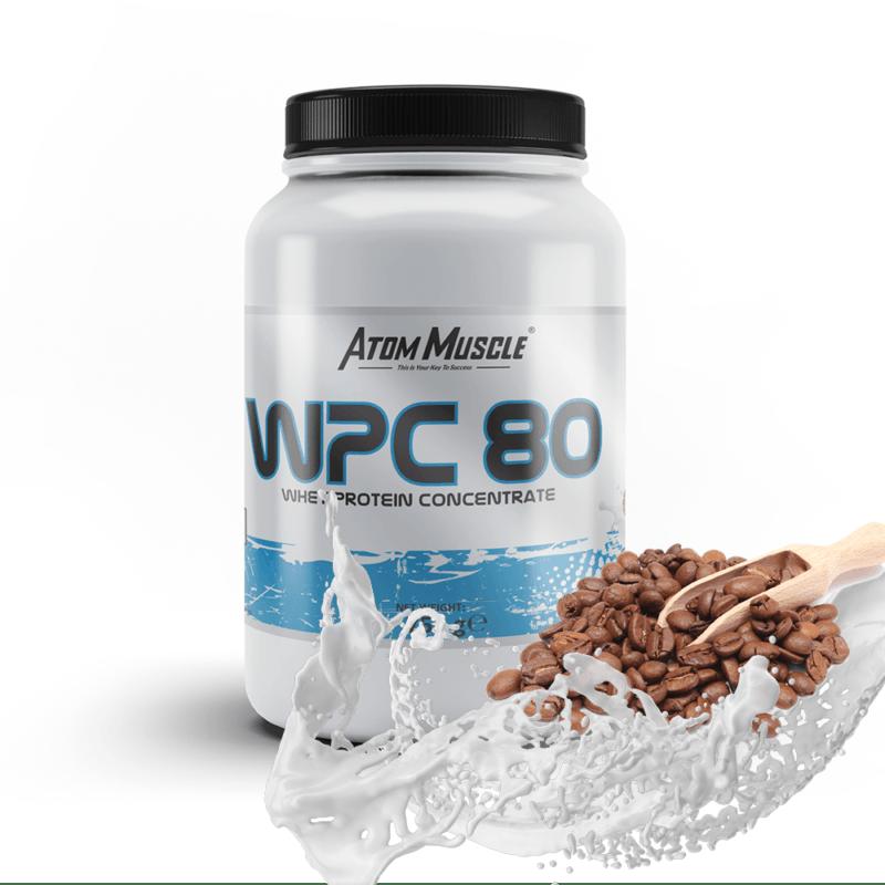 Atom Muscle WPC 80 - smak Kawa Latte