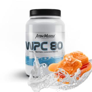 Atom Muscle WPC 80 - smak Słony Karmel