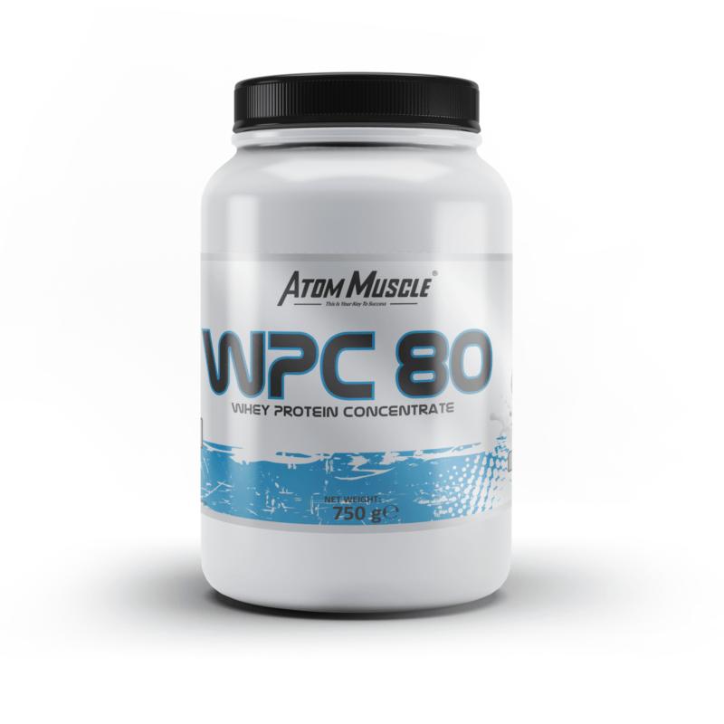 Atom Muscle WPC 80 - smak Wafel Waniliowy