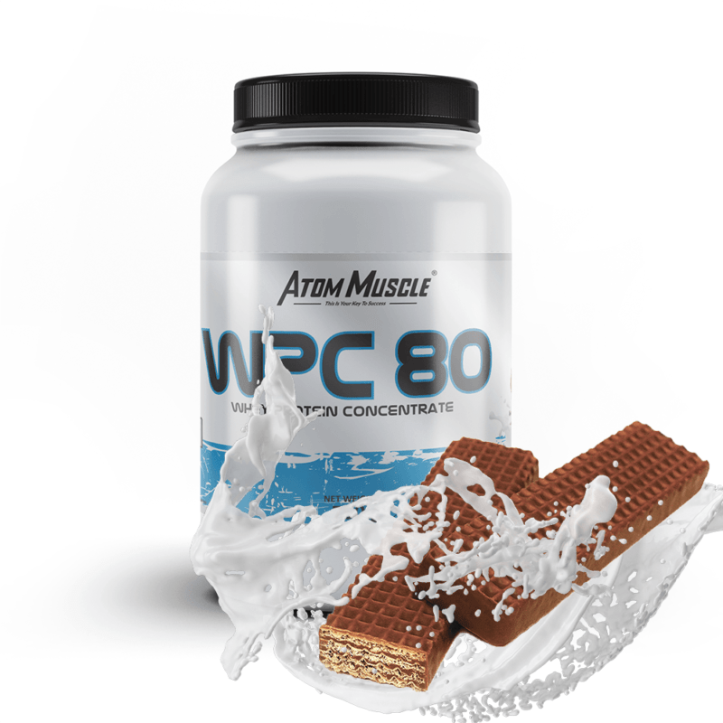 Atom Muscle WPC 80 - smak Wafel Czekoladowy