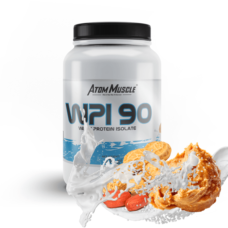 Atom Muscle WPI 90 - smak Masło Orzechowe